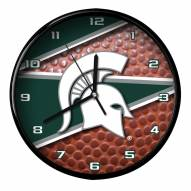 Michigan State Spartans Football Clock