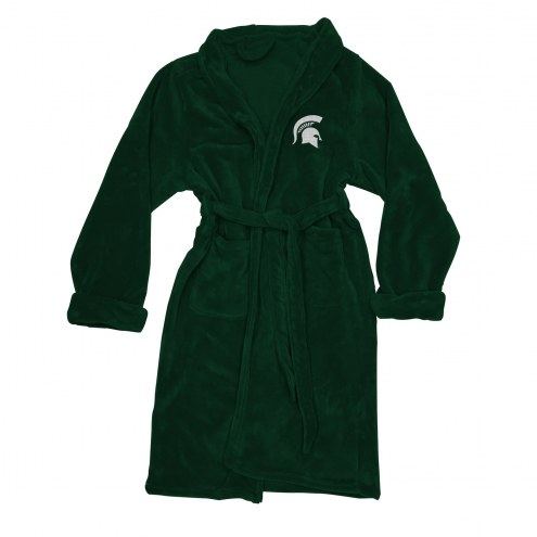 Michigan State Spartans Men's Bathrobe