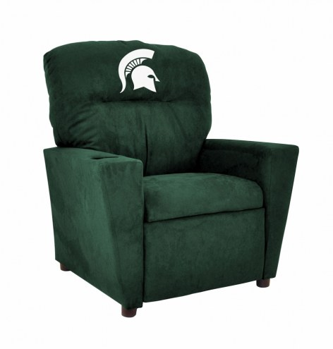 Michigan State Spartans Microfiber Kid's Recliner