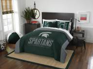 Michigan State Spartans Modern Take Full/Queen Comforter Set