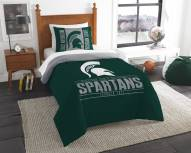 Michigan State Spartans Modern Take Twin Comforter Set