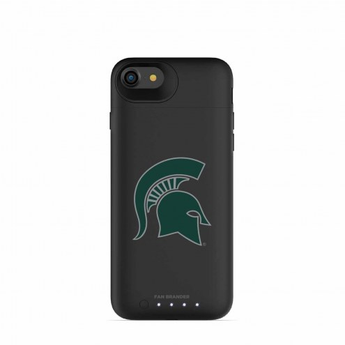 Michigan State Spartans mophie iPhone 8/7 Juice Pack Air Black Case