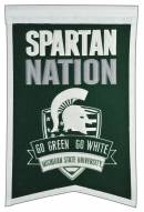 Michigan State Spartans Nations Banner