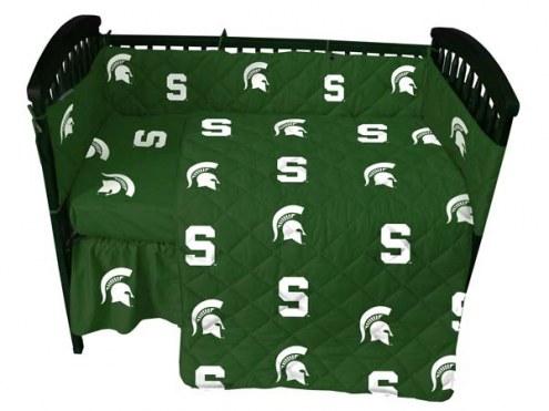 Michigan State Spartans Baby Crib Set