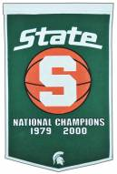 Michigan State Spartans NCAA Basketball Dynasty Banner