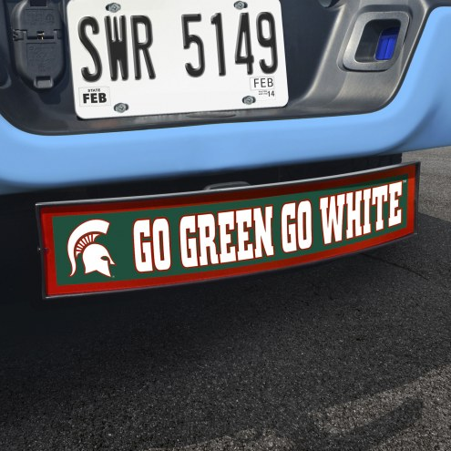 Michigan State Spartans NCAA Light Up Hitch Cover