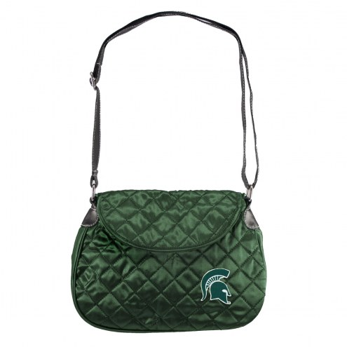 Michigan State Spartans NCAA Quilted Saddle Bag