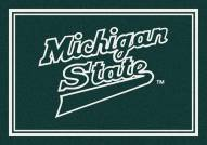 Michigan State Spartans NCAA Team Spirit Area Rug