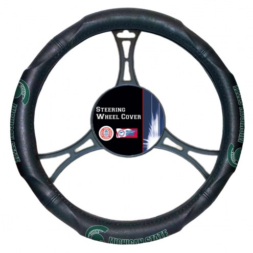 Michigan State Spartans Steering Wheel Cover