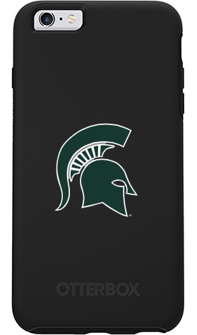 Michigan State Spartans OtterBox iPhone 6/6s Symmetry Black Case