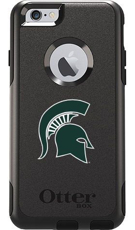 Michigan State Spartans OtterBox iPhone 6 Plus/6s Plus Commuter Black Case