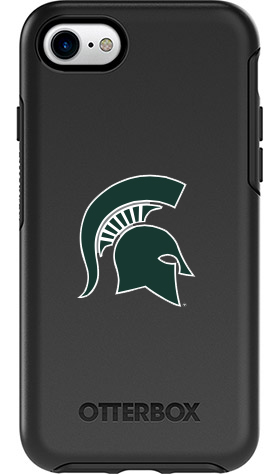 Michigan State Spartans OtterBox iPhone 8/7 Symmetry Black Case