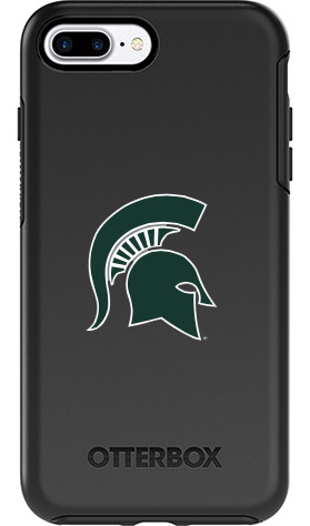 Michigan State Spartans OtterBox iPhone 8 Plus/7 Plus Symmetry Black Case
