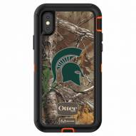 Michigan State Spartans OtterBox iPhone X Defender Realtree Camo Case