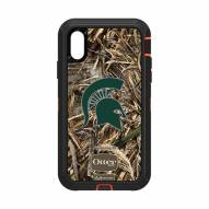 Michigan State Spartans OtterBox iPhone XR Defender Realtree Camo Case