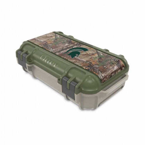 Michigan State Spartans OtterBox Realtree Camo Drybox Phone Holder
