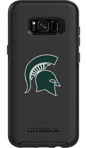 Michigan State Spartans OtterBox Samsung Galaxy S8+ Symmetry Black Case
