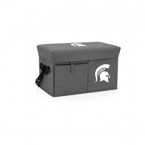 Michigan State Spartans Ottoman Cooler & Seat