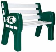 Michigan State Spartans Park Bench