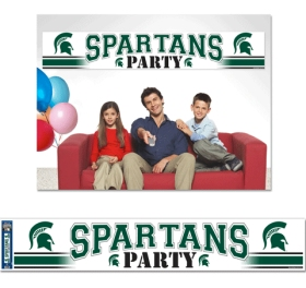 Michigan State Spartans Party Banner
