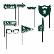 Michigan State Spartans Party Props Selfie Kit