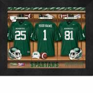 Michigan State Spartans Personalized 11 x 14 Framed Photograph