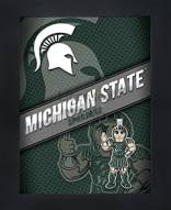 Michigan State Spartans Framed 3D Wall Art