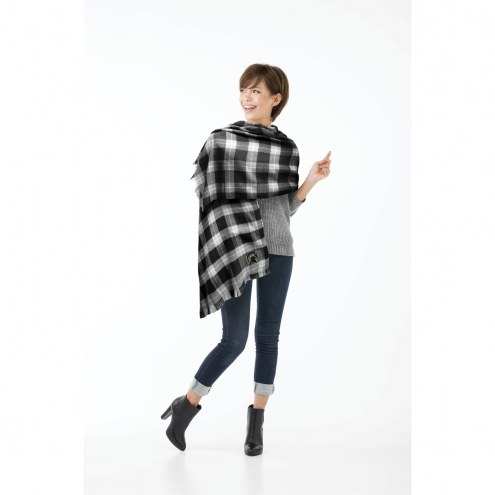Michigan State Spartans Plaid Blanket Scarf