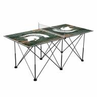 Michigan State Spartans Pop Up 6' Ping Pong Table