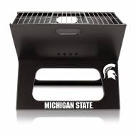 Michigan State Spartans Portable Charcoal X-Grill
