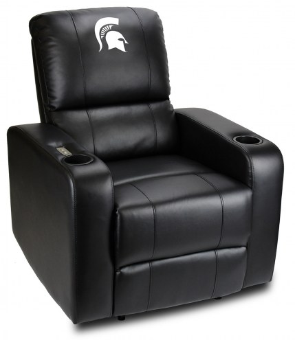 Michigan State Spartans Power Theater Recliner