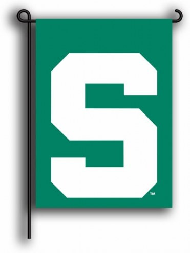 Michigan State Spartans Premium 2-Sided Garden Flag