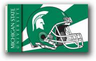 Michigan State Spartans Premium Helmet 3' x 5' Flag