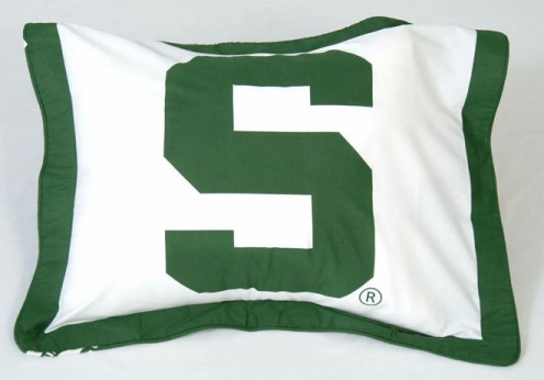 Michigan State Spartans Printed Pillow Sham