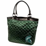 Michigan State Spartans Quilted Tote Bag