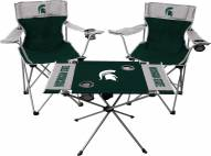 Michigan State Spartans Table & Chairs Set