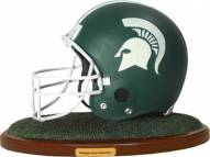 Michigan State Spartans Collectible Football Helmet Figurine
