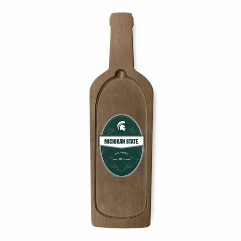 Michigan State Spartans Reserve Glass Top Serving Tray