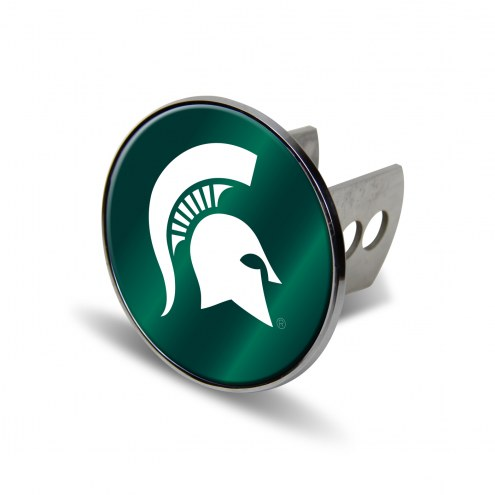 Michigan State Spartans Laser Hitch Cover