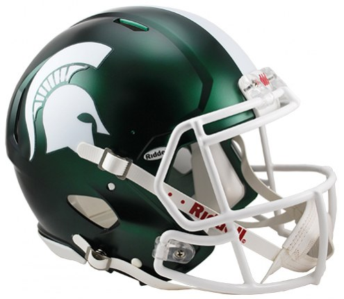 Michigan State Spartans Riddell Speed Full Size Authentic Satin Football Helmet