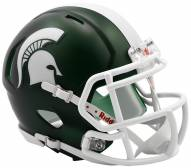 Michigan State Spartans Riddell Speed Mini Collectible Satin Football Helmet
