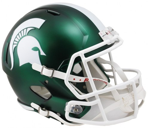 Michigan State Spartans Riddell Speed Collectible Satin Football Helmet