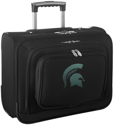 Michigan State Spartans Rolling Laptop Overnighter Bag