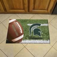 Michigan State Spartans Scraper Door Mat