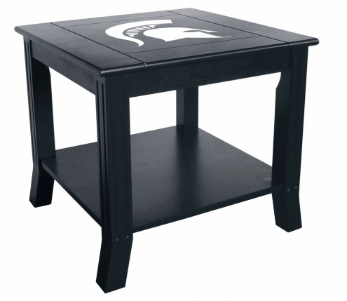 Michigan State Spartans Side Table