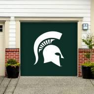 Michigan State Spartans Single Garage Door Banner
