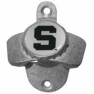 Michigan State Spartans Wall Mounted Bottle Opener