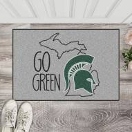 Michigan State Spartans Southern Style Starter Rug