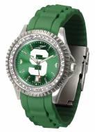Michigan State Spartans Sparkle Women's Watch