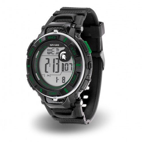 Michigan State Spartans Sparo Men's Power Watch